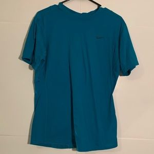 Nike Workout Top Teal Blue